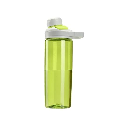 Bouteille d'eau de sport avec capuchon magnétique Tritan gratuit en plastique non toxique Coupe d'eau de sport 600 ml Bouteille d'eau durable étanche aux fuites Bouteille de sport Shaker Outdoor