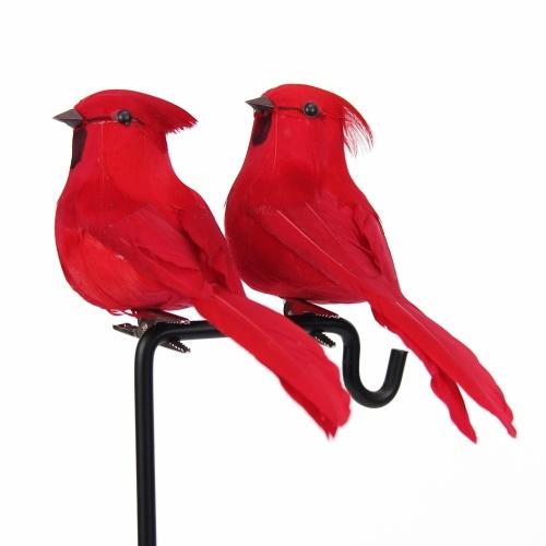 2 uds., Escultura de pared de pájaro artificial, simulación decorativa, pájaros de espuma, decoración del hogar, artesanía, adorno, árbol de jardín al aire libre