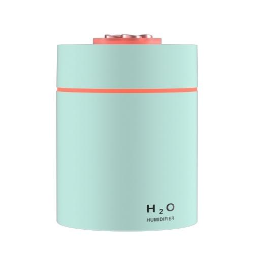 Mini humidificador Purificador de aire de niebla Apagado automático USB alimentado con luz nocturna LED