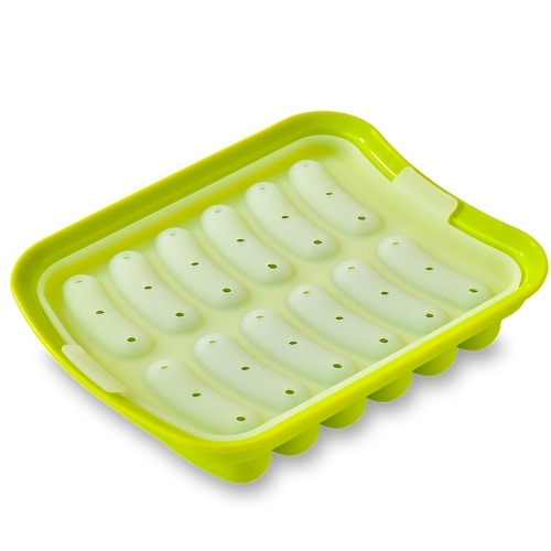 Silicone Sausage Mold Non-Stick Hot Dog Mold Finger Shaped Molds