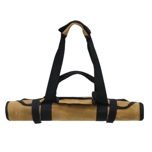 Bolsa de leña grande para transporte de leña