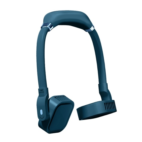 Портативный шейный вентилятор Носимый безлопастный вентилятор с охлаждающей головкой