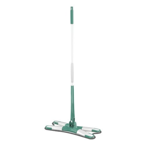 Spin Lazy Mops Hands Free Cleaner Automatic Flat Squeeze Mop
