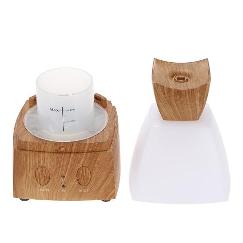 12W ультразвуковой диффузор для аромат 7 цвет трансформер воздуха увлажнитель машина голосового диффузор для эфирное масло США Plug Браун & Белый