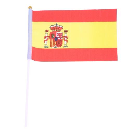 Кубок Anself 12шт 2016 европейских чемпионов Олимпийских игр мира портативных флаг с древка флага для ЕВРО 2016 Международный день спортивные события рука флага размера 14 * 21 см