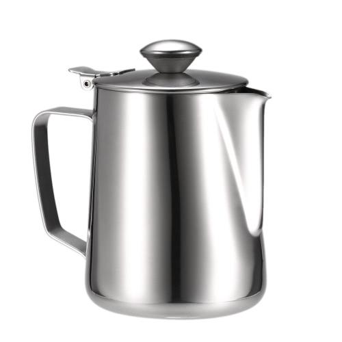 Edelstahl Aufschäumen von Milch Pitcher Milchschaumbehälter Milk Cup Espresso Messbecher Kaffe Appliance