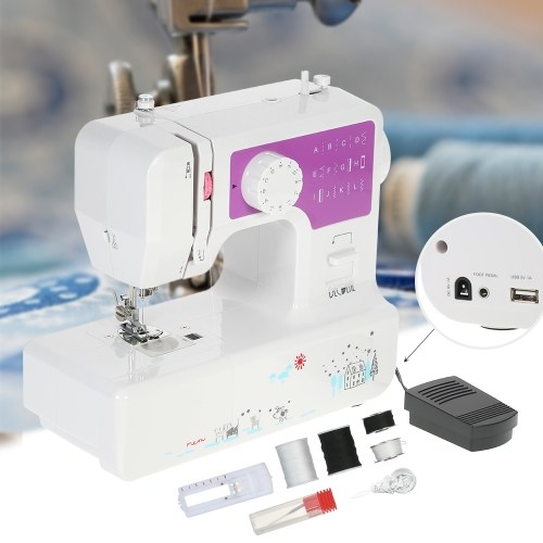 Многофункциональная электрическая бытовая 2-скоростная швейная машина Decdeal