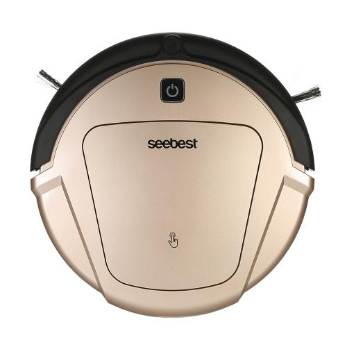 seebest D750 Smart Self-Charging Self-Cleaning Robotic Cleaner Робот-пылесос Автоматический перезаряжаемый роботизированный пылесос Многофункциональная мокрая и сухая машина для мойки