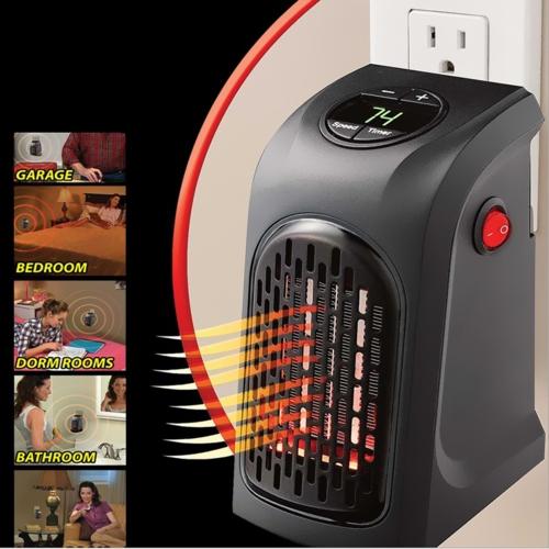 Portable Mini Electric Handy Air Heater Warm Fan Blower  EU Plug