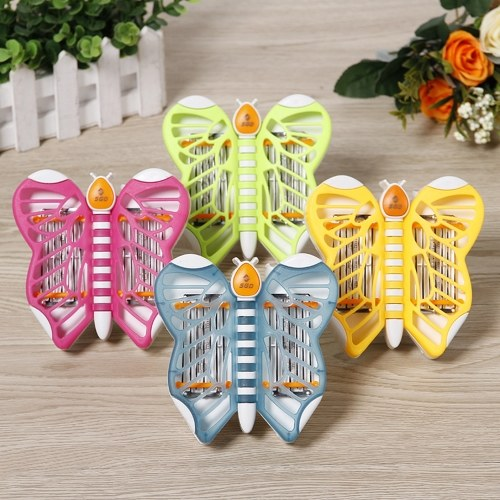 Mini elektronischer Moskito-Mörder-Lampe des Karikatur-Schmetterlings-LED