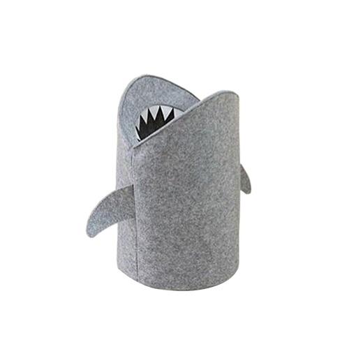 Secchio di stoccaggio piegante dello squalo del fumetto