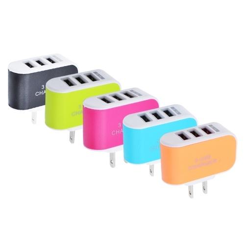 Universal 3 Ports USB Wall Charger