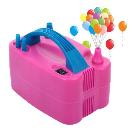 Elektrische luftballonpumpe tragbare elektrische ballon luftpumpe gebläse für party dekoration