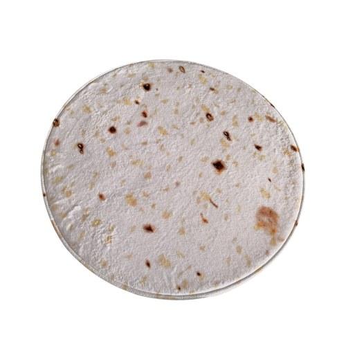 Журнальный столик для гостиной Emulational Food Taco Round Blanket
