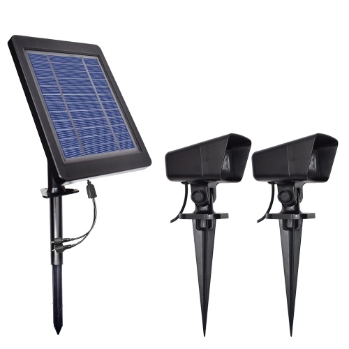 Decdeal LED Solar Powered Lights