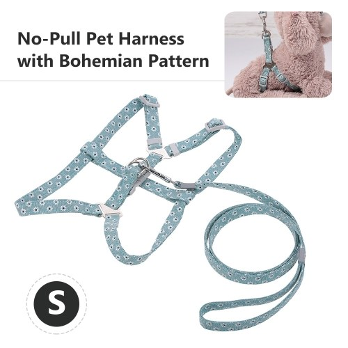 Pet Harness No-Pull Adjustable Chest Straps