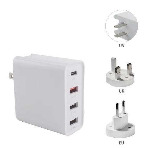 Dispositivo di ricarica da parete USB a 4 porte 48 W