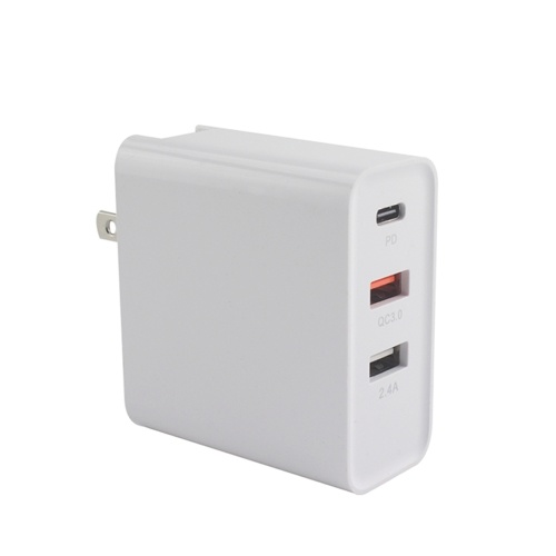 48W 3-Ports USB Wall Charging Device