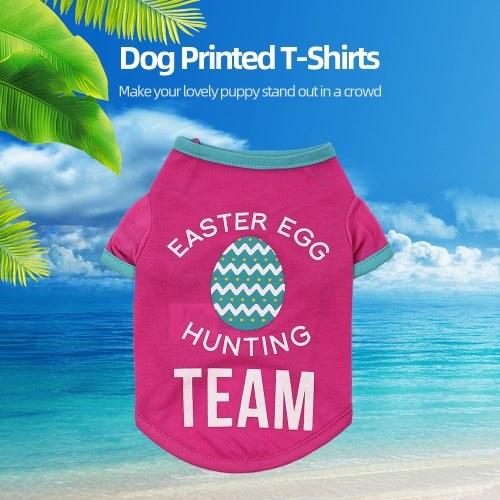 Ropa para mascotas Camisas para perros Camisetas para perros Impreso Chaleco chaleco para mascotas Ropa de primavera y verano para perros pequeños Gatos