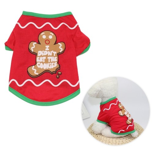 Pets Christmas T-Shirt for Dogs