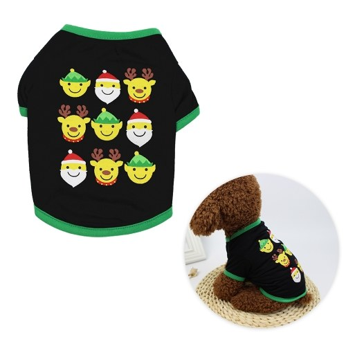 犬用ペットクリスマスTシャツ