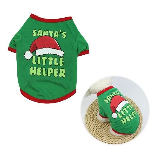 Pets Christmas T-Shirt para Cães