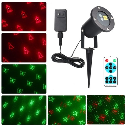 AC100-240V Portable 20 Patterns Christmas Lights