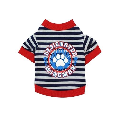 Pet Shirts Dog T-Shirts Printed Pet Clothes