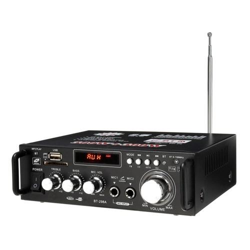 12V / 110V 600W BT Stereo-Audioverstärker mit Fernbedienung