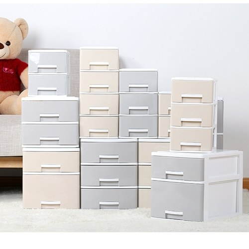 Desktop Storage Cabinet Desk File Finishing Box Simple Book Standing File Storage Box Multi-layer Storage Drawers