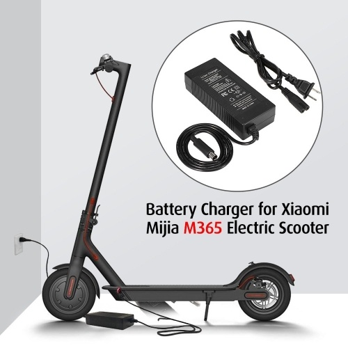 Зарядное устройство для скутера 42V 2A Зарядное устройство, совместимое с Xiaomi M365 Ninebot ES1 ES2 ES4 Электрический самокат