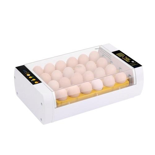 Digital Egg Incubator 24 Eggs Auto Temperature Control Auto Egg