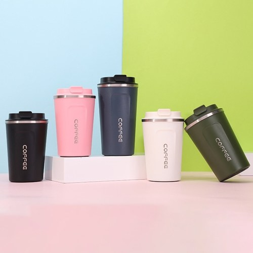 Stainless Steel Coffee Cup Leakproof Insulated Thermal Cup Car Portable Travel Coffee Mug