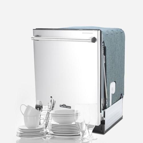 THOR КУХНЯ HDW2401SS High End Посудомоечная машина 24-дюймовый нержавеющей стали Полностью интегрированная Встраиваемая посудомоечная машина высокого качества Посуда Моечное оборудование