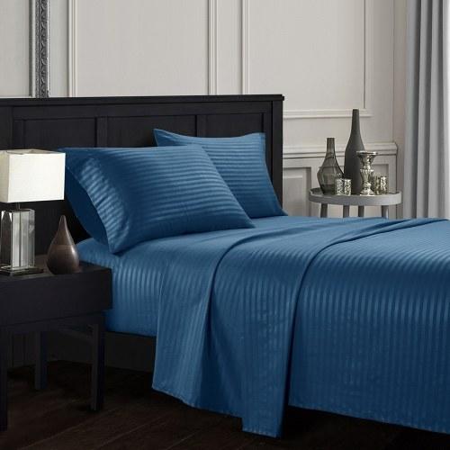 Conjunto de capa de cama e fronha de lençol de 4 peças