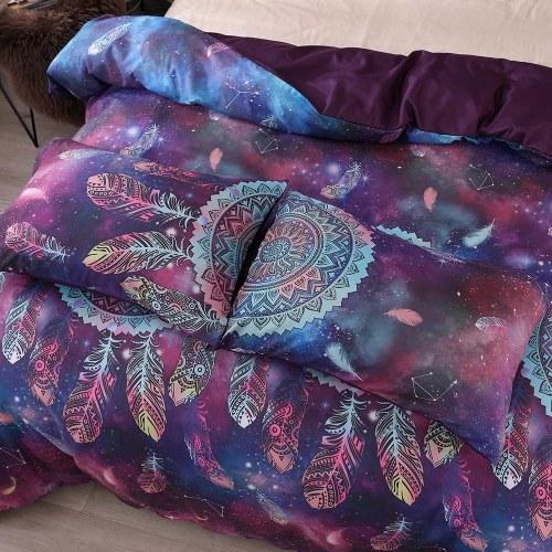 Bedding Set Magic Wind Chimes Pillowcase Bed Sheet