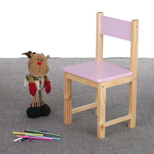 Sedia impilabile in legno per bambini iKayaa