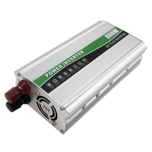 Professional 800W DC12V AC220V AC Haushalt Auto Wechselrichter Power Converter geändert Sinuswelle Ladegerät