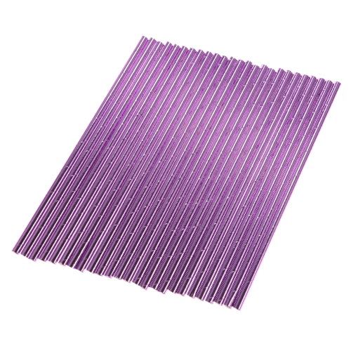 100pcs/set Adorable Solid Color Food Grade Paper Straws for Birthday Wedding Baby Shower Celebration and Party