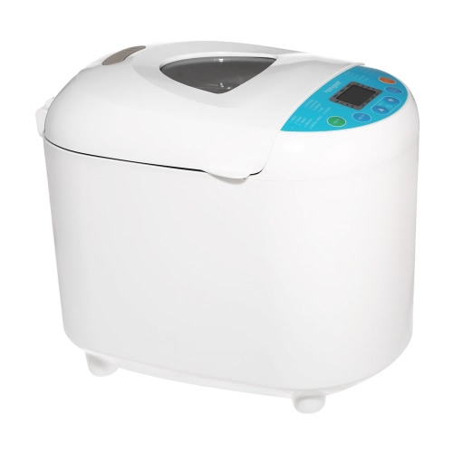 Homgeek High-end Bread Maker Programmable Breadmaker Bread Machine with 19 Menus