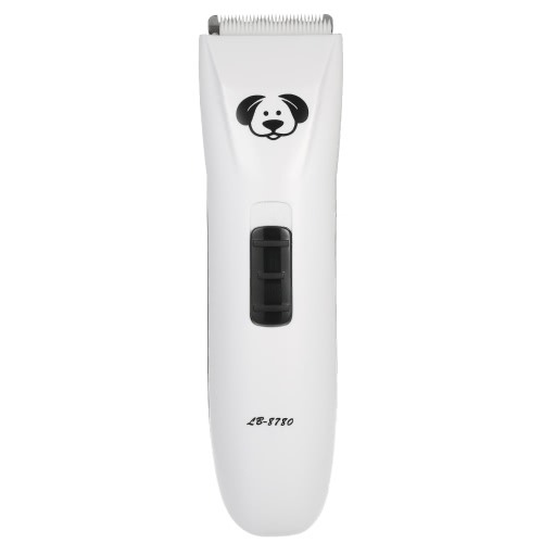 AC100-240V Низкий уровень шума Профессиональный мини аккумуляторная машинка для стрижки волос Триммер электрический парикмахерского инструмента для собак Pet Cat Регулируемая скорость