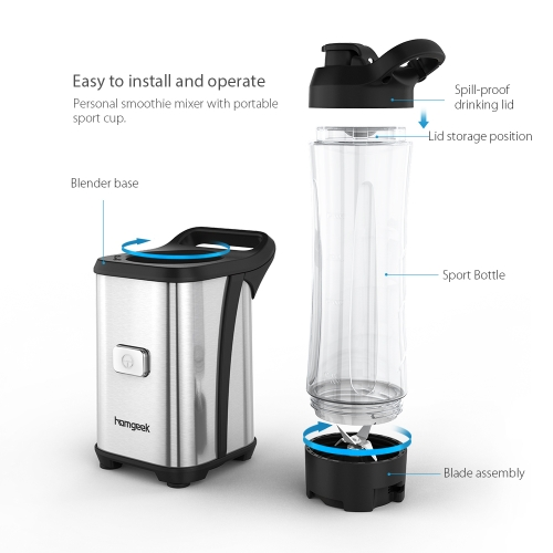 Steel Blades Mini Blender