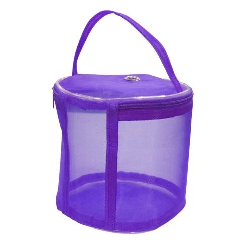 Мешок для хранения мешков для хранения пряжи вязания для переноски Легкие вязальные аксессуары Шерстяная вязальная вставка