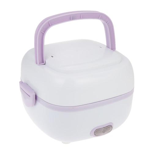 Многофункциональная мини-плитка для риса Электрическая коробка для мусора Термальная изоляция Обеденный ящик Электрическая коробка для обедов с парогенератором