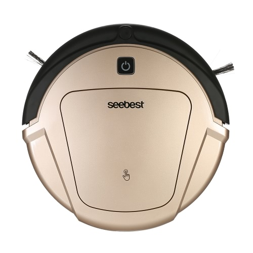 seebest D750 Smart Self-Charging Self-Cleaning Robotic Cleaner Robot Vacuum Cleaner Automatic Rechargeable Robotic Vacuum Cleaner Multifunctional Wet & Dry Mopping Sweeping Machine