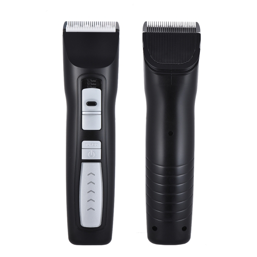 Dog Grooming Clippers Cordless Rechargeable Quiet Pet Clipper do grubych płasek Dog Cat 2-Speed