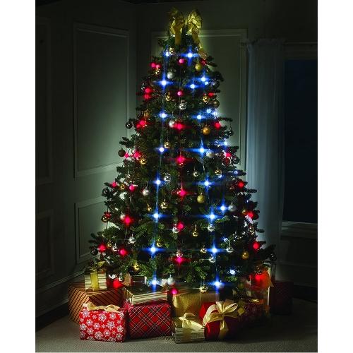 Żarówki LED String Lights Star Shower Świąteczna choinka - wtyczka EU