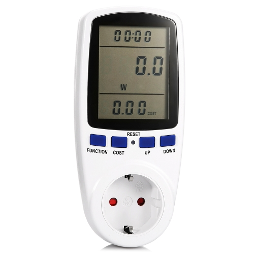 Digital Wattmeter Watt Monitor Electricity Consumption Measuring Socket Analyzer Electricity Usage Monitor