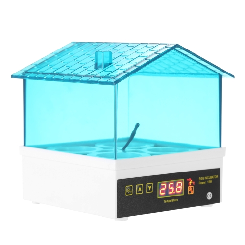 4-Eggs Household Mini Intelligent Automatic Egg Incubator Temperature Control Hatcher for Hatching Chicken Duck Bird Quail Poultry AC110V US Plug