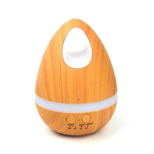 Humidificador Aceite Esencial Máquina de aromaterapia ultrasónica Difusor de aroma Hogar Night-Lighting Niebla Fabricante Moistener de escritorio para SPA Diseño clásico en forma de huevo polivalente